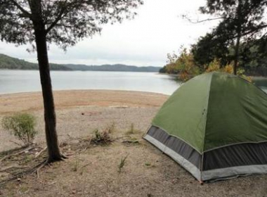 Primitive Camping on Dale Hollow Lake