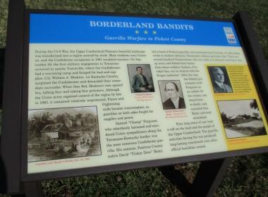 National Civil War Trail Marker