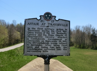 Affair at Travisville Historical Marker