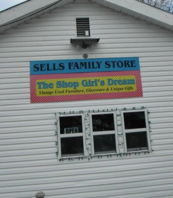 Sells Family Store - the Shop Girl's Dream